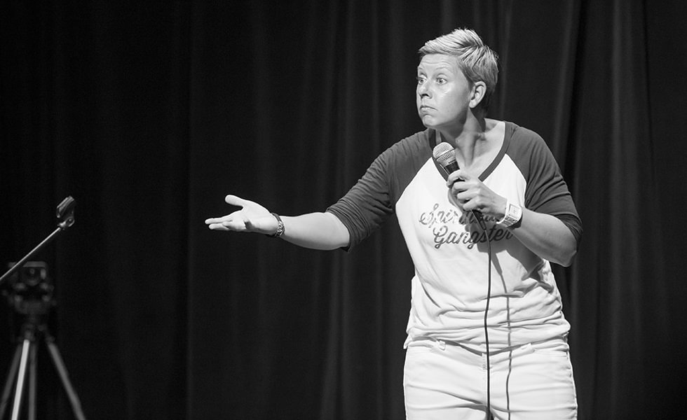 Images of Susan Stewart Event Hosting & Comedy in action